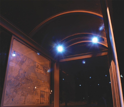 Cost Effective Solar Bus Stop Lighting From Greenshine